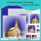 Christmas Church Pyramage