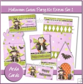 Halloween Cuties Party Kit Extras Set 1