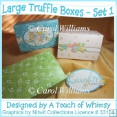 Large Truffle Boxes - Set 1