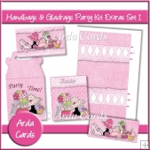 Handbags & Gladrags Party Kit Extras Set 1