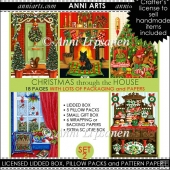 Christmas through the House Combo Set 2