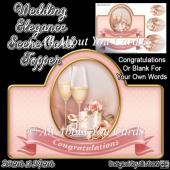 Wedding Elegance Card Topper