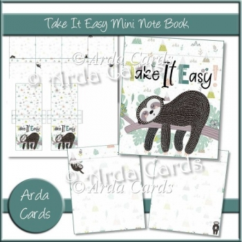 Take It Easy Mini Notebook