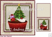7.5 x 7.5 Card Topper & Gifttag Christmas 6