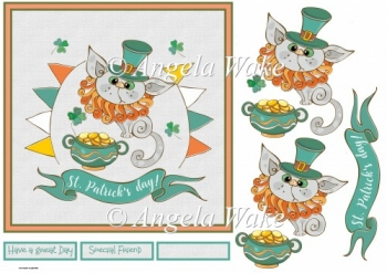 A Pot of gold 7x7 card