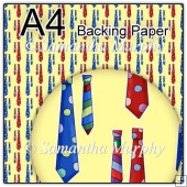ref1_bp326 - Yellow Mens Tie Fathers Day