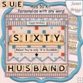 60 IN SCRABBLE 7.5 Alphabet Quick Card Kit Create Any Name