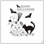 Halloween Digital Stamp