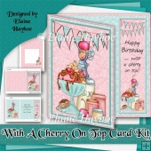 With A Cherry On Top Birthday Card Kit