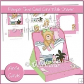 Pamper Time Easel Card With Drawer