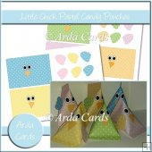 Little Chicks Pastel Candy Pouches