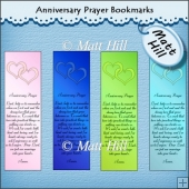 Anniversary Prayer Bookmarks