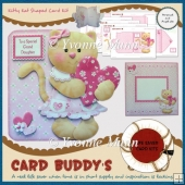 Kitty Kat Shaped Card Kit