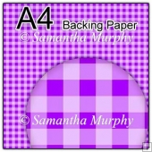 ref1_bp452 - Purple Checks, Gingham & Tartan