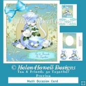 Tea & Friends Go Together - Multi Occasions Card