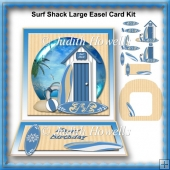 Surf Shack Large Easel Card Kit