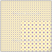 Lemon Backing Paper With Spots