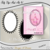 Frilly Edge Mask Mat #1
