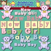 Baby Wordart Collection
