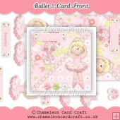 Ballet 2 - Card Front & Decoupage