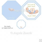 Baby Boy Plate Card