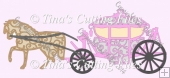 Wedding Carriage And Horse File