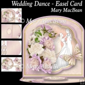 Wedding Dance Easel Card