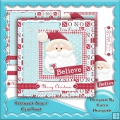 Patchwork Xmas 1 Card Front
