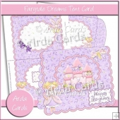 Fairytale Dreams Tent Card