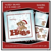 Huggy Bears 8 x 8 Card Kit - Sending Hugs
