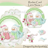 Rocker Starter Set Let It Snow 1(Retiring in July)