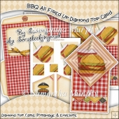 BBQ All Fired Up Diamond Top Card Download
