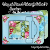 Winged Friends Waterfall Card