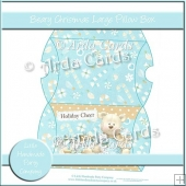 Beary Christmas Large Pillow Box