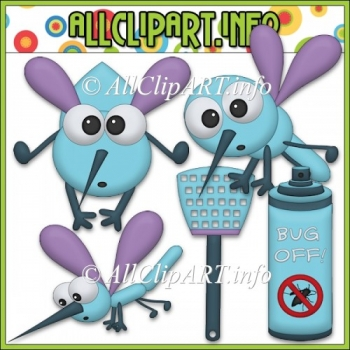 Bug Off Commercial Use Clip Art