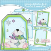 Snowbuddies Ice Bear Pop Out Banner Card