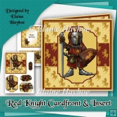Red Knight Cardfront and Insert