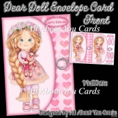 Dear Doll Envelope Card Front