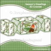 Season's Greetings 3D Cracker Gift Box