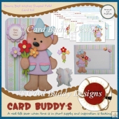 Beary Best Wishes Shaped Fold Card Kit