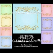 Soft Dreamy Framed Papers