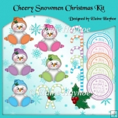 Cheery Snowmen Christmas Kit
