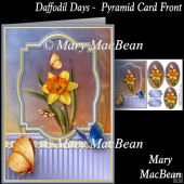 Daffodil Days Pyramid Card Front