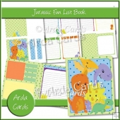Jurassic Fun List Book