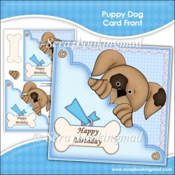 Puppy Dog Card Front