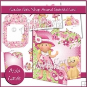 Garden Girls Wrap Around Gatefold Card