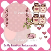 Be My SweetHoot Rocker Card Kit