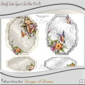 Butterfly Garden Toppers & Text Plates
