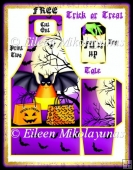FREE Howling Good Time Trick or Treat Tote Bag and Tag Set