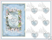 Cottage Chic Love All Occasion Dove Topper with Decoupage